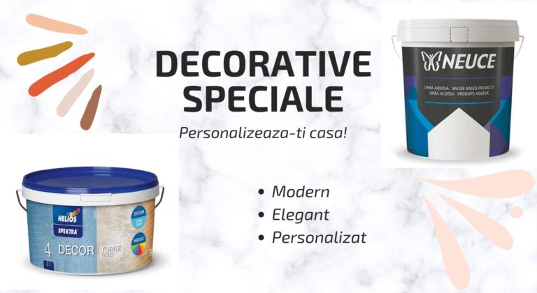 3 Tipuri De Vopsele Decorative Usor De Aplicat Cu Rezultate Excelente